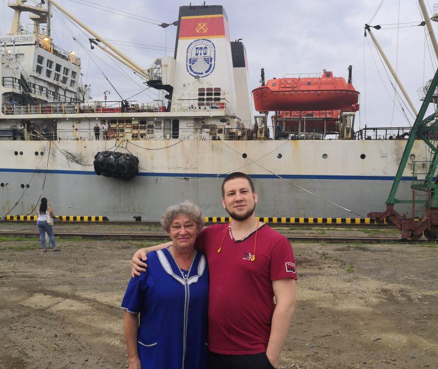 РКТ-С «Капитан Колесников» прибыл в порт Преображение