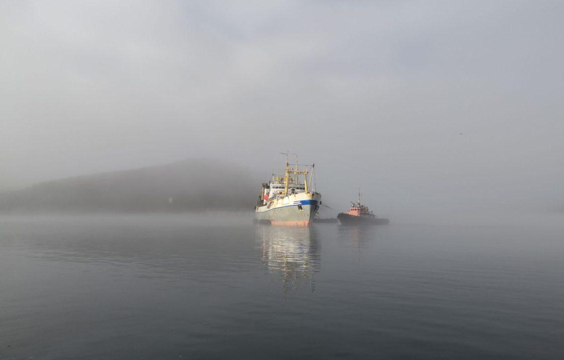 БМРТ «Остров Шикотан» прибыл в порт Преображение