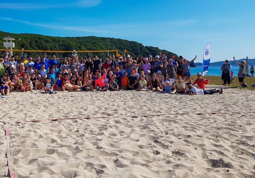Спортивный фестиваль «На песке 2021» в пгт.Преображение